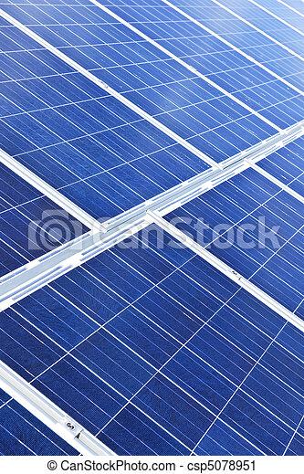 paneler, sol - csp5078951
