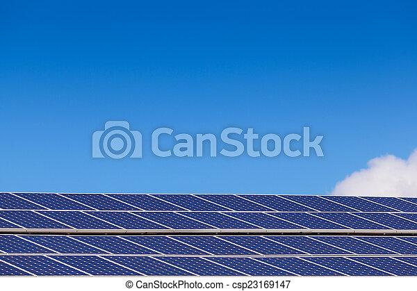 paneler, sol - csp23169147