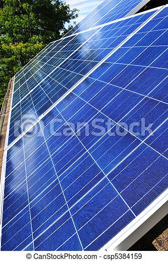 paneler, sol - csp5384159
