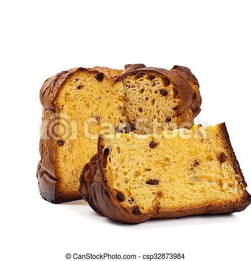 Italian Christmas Cake.Panettone Christmas Cake