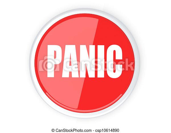 Panic Button - csp10614890