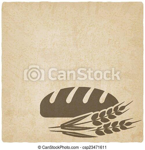 panificadora, símbolo, pão - csp23471611
