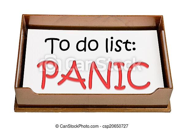 Panik - csp20650727