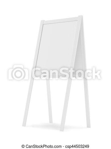panino, -, isolato, illustrazione, interpretazione, asse, bianco, 3d - csp44503249