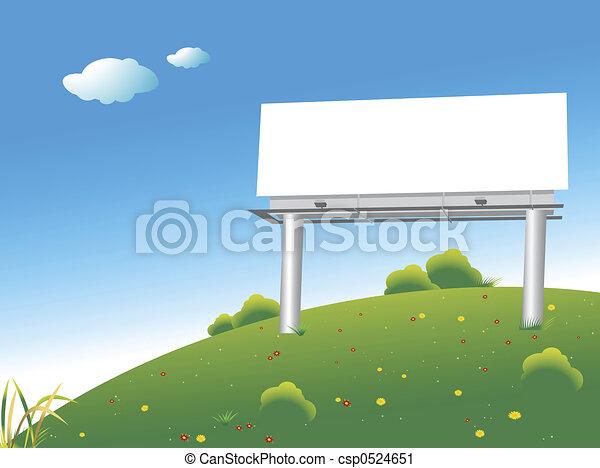 panneau affichage - csp0524651