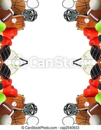 panneau affichage, sports - csp2540633
