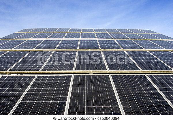 panneau solaire - csp0840894