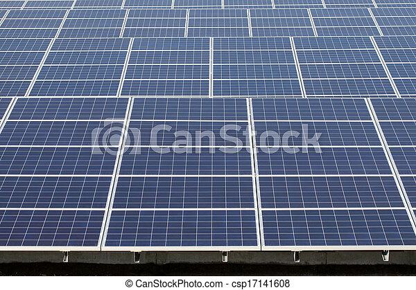 panneaux solaires, énergie - csp17141608
