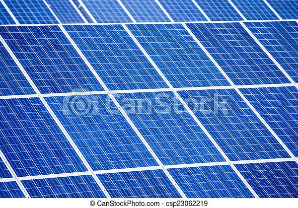 panneaux solaires, énergie - csp23062219