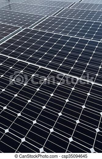panneaux solaires, énergie - csp35094645
