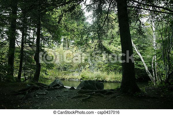 panorâmico, ao ar livre - csp0437016