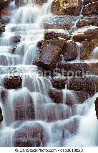 panorâmico, cachoeira - csp0610828