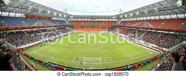 panorama, fútbol, estadio - csp1828570