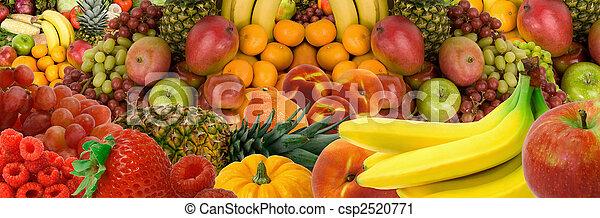panorama, fruit - csp2520771