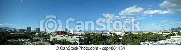 panorama, horizon, vegas, las - csp4081154