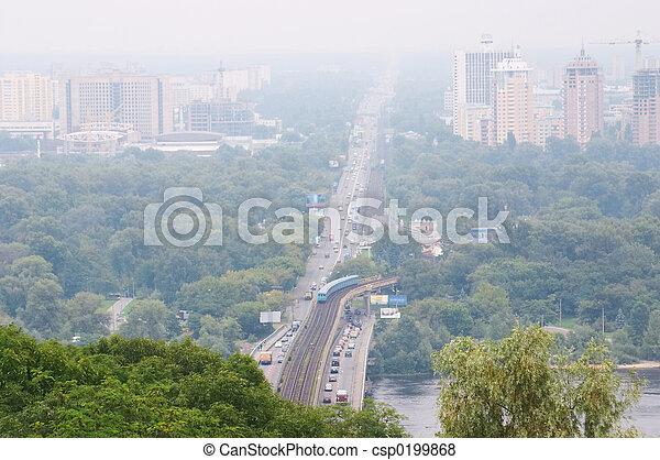 Panorama de kiev - csp0199868