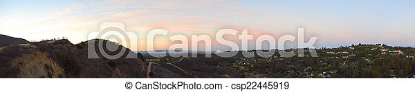 Panorama of a Canyon - csp22445919