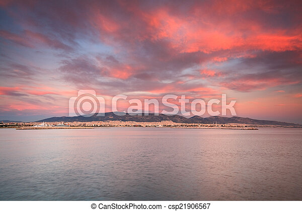 Panorama of Athens. - csp21906567