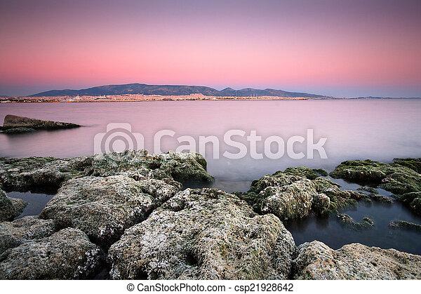 Panorama of Athens. - csp21928642