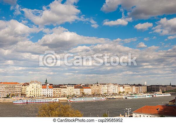 Panorama of Budapest - csp29585952