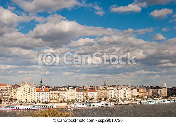 Panorama of Budapest - csp29810726