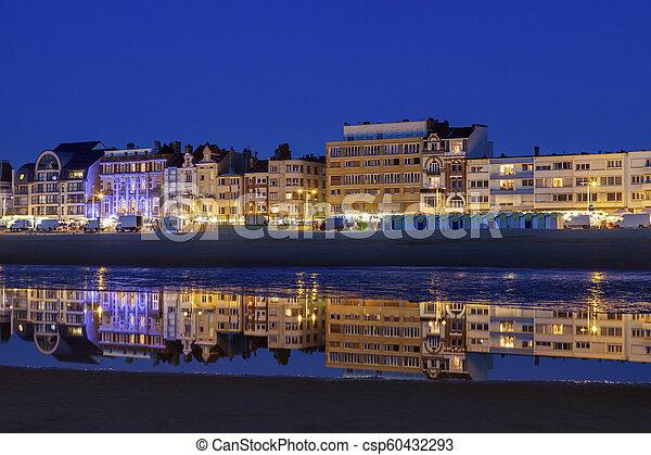 Panorama of Dunkirk - csp60432293