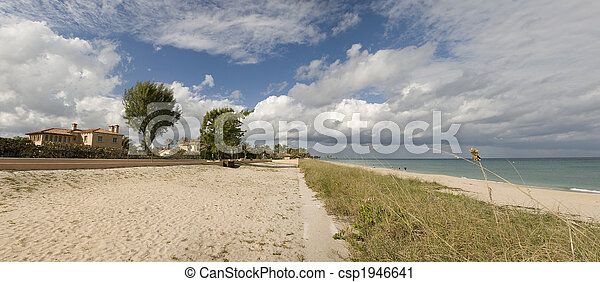 Panorama of West Palm Beach - csp1946641