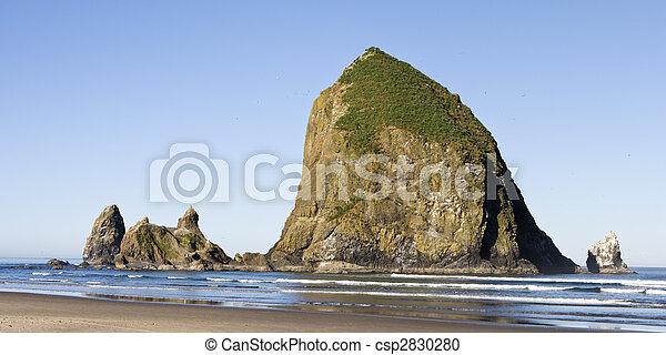 El panorama del rock de Haystack - csp2830280