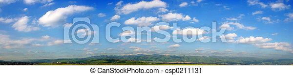 panorama, skyer - csp0211131