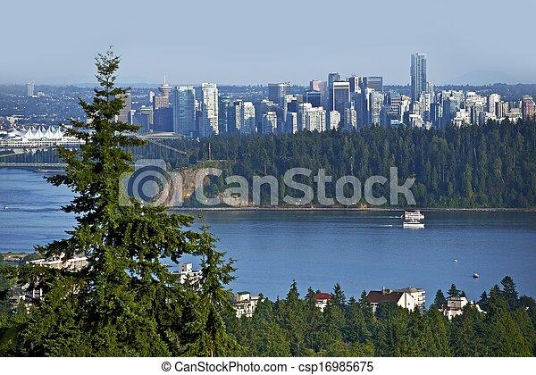 panorama, vancouver - csp16985675