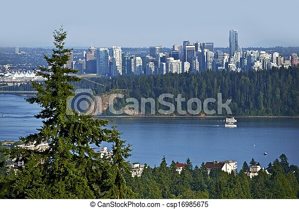 Vancouver panorama - csp16985675