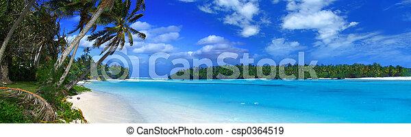 Panoramic Lagoon II - csp0364519