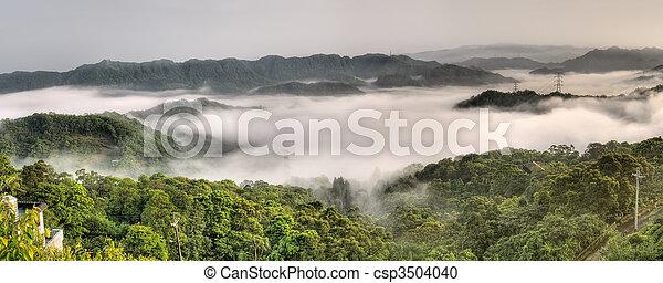Panoramic landscape - csp3504040