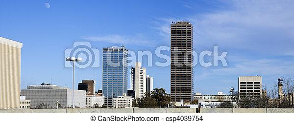 Panoramic Little Rock, Arkansas - csp4039754