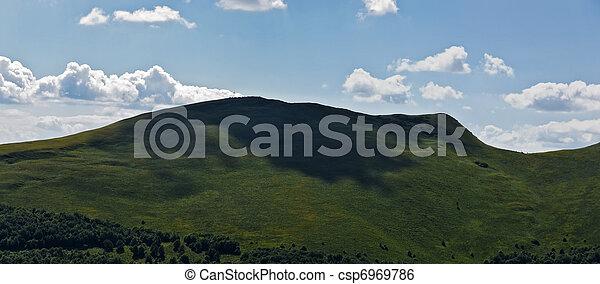 Panoramic mountain Bieszczady - csp6969786