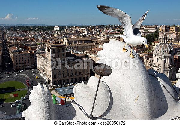 Panoramic view of Rome - csp20050172