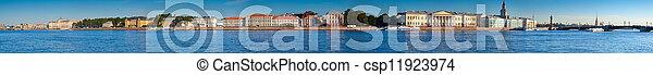 Panoramic view of St. Petersburg - csp11923974