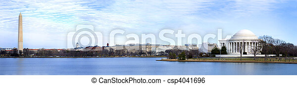 panoramique, washington dc - csp4041696