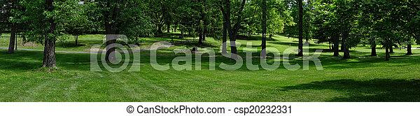 Park panoramisch - csp20232331
