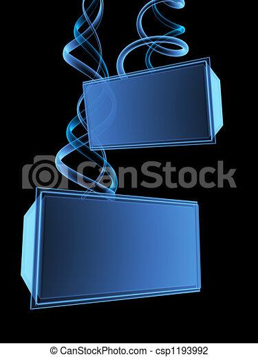 3d pantalla digital - csp1193992