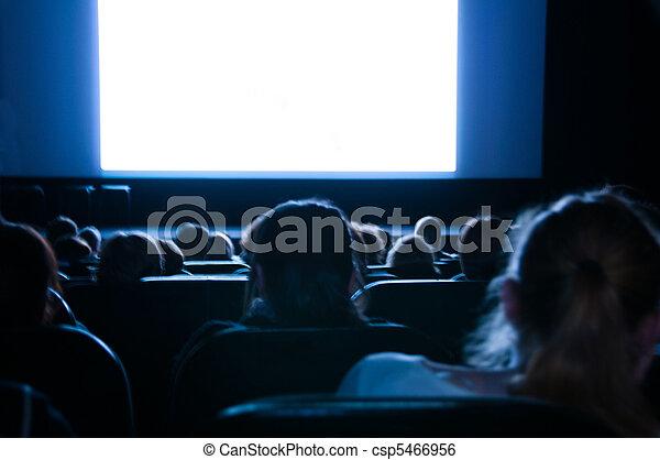 Pantalla de cine - csp5466956