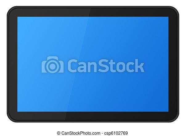 pantalla del tacto, tableta, xxl - csp6102769