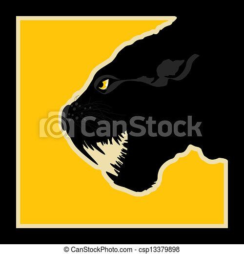 Pantera negra - csp13379898