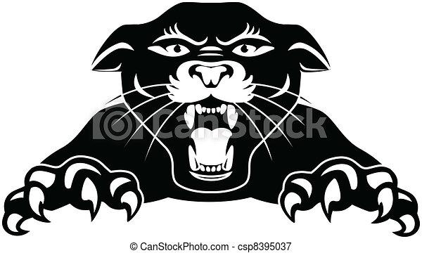 panthère noire - csp8395037