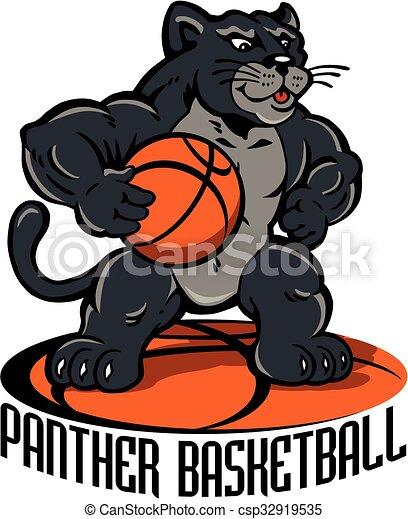 panther basketball - csp32919535
