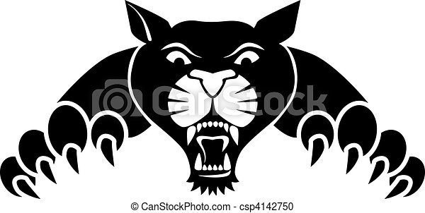 panther illustrations and clip art 4 832 panther royalty free rh canstockphoto com clipart pink panther clipart panther football