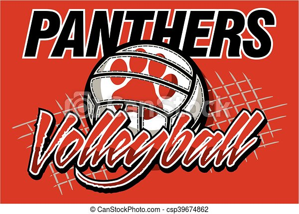 Ram Logo Vector Panthers volleyball te...