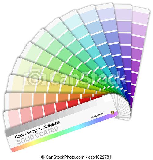 Pantone color palette - csp4022781