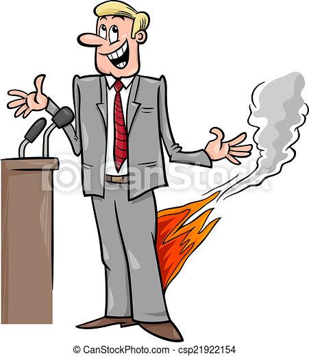 pants on fire saying cartoon - csp21922154