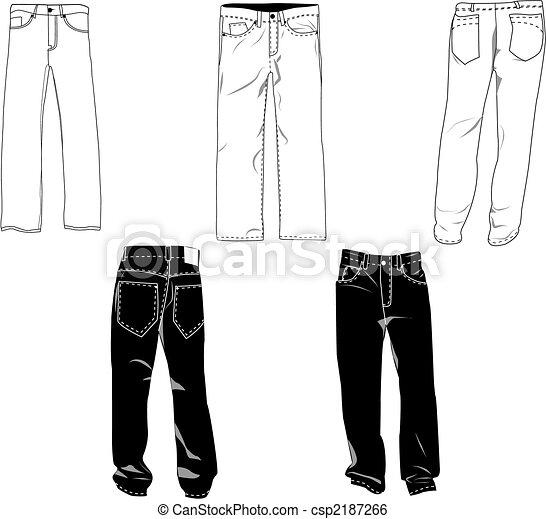 pants template csp2187266
